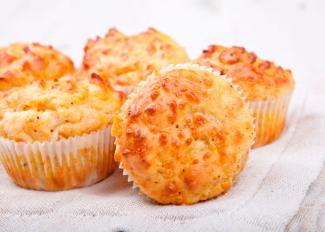 Cómo hacer Muffins de queso