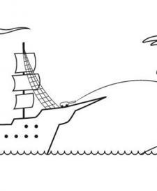 Dibujos para colorear de Barcos
