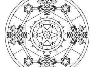 Mandala de invierno