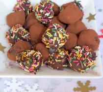 Trufas de chocolate negro: receta paso a paso