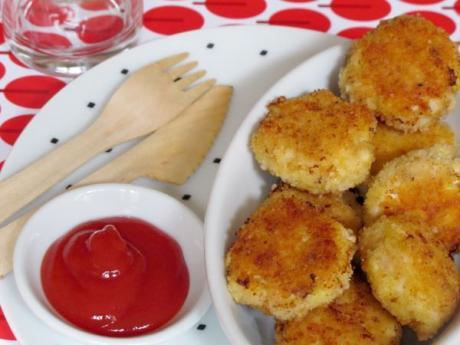 Receta infantil de nuggets caseros: receta paso a paso