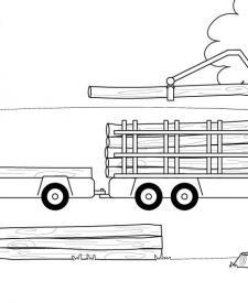 Dibujos De Medios De Transporte Para Colorear E Imprimir