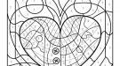 Dibujo mágico de ballena: dibujo para colorear e imprimir