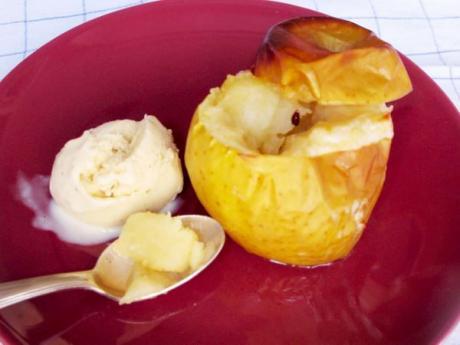 Manzanas al horno. Recetas de postres