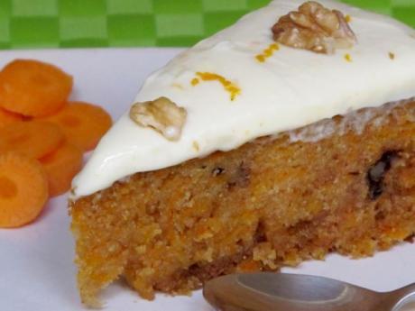 Receta de pastel de zanahorias para cocinar con niños