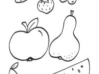 Frutas Dibujo Para Colorear E Imprimir