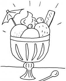 Dibujos para colorear de Comida