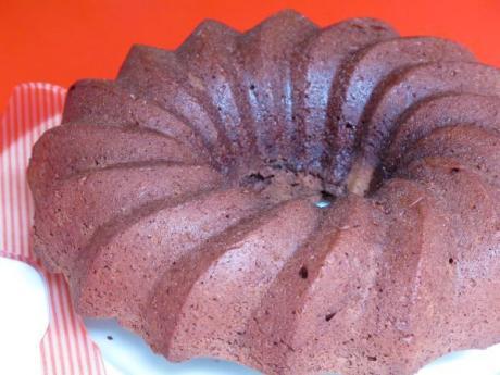 Receta Pastel de chocolate sin huevo