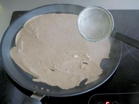 Receta Crepes de trigo de sarraceno