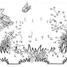 Dibujo de unir puntos de un zorro: dibujo para colorear e imprimir