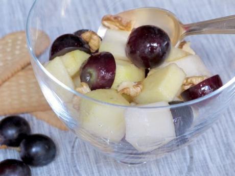 Receta de ensalada de frutas de otoño