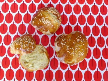 Receta casera de pan para hamburguesas