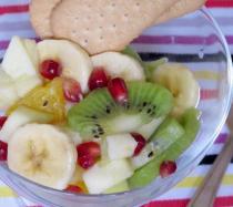 Receta de ensalada de frutas de invierno