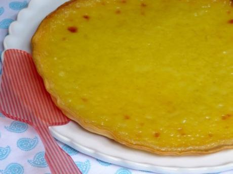 Tarta de limón: receta fácil paso a paso
