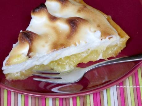 Tarta de limón con merengue: receta sencilla paso a paso