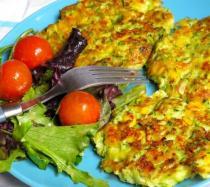 Tortitas de calabacín y maíz: receta fácil paso a paso