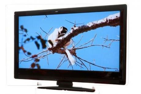 Encender el televisor reflejado en un espejo: experimento para niños