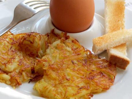 Medallones de patata: receta fácil para hacer con niños