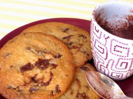 Cookies con pepitas de chocolate: recetas infantiles