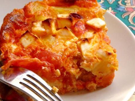 Frittata de chorizo y tomates: receta fácil para hacer con niños