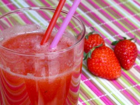 Limonada roja: receta de bebidas infantiles