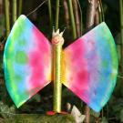 Fabricar una mariposa brillante. Manualidad para niños