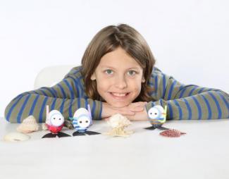 Huevos buceadores: manualidad infantil