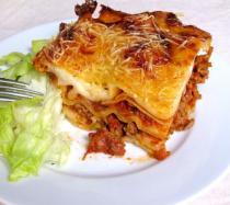 Lasaña de carne: receta italiana para niños
