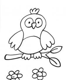 Dibujos para colorear con la letra B