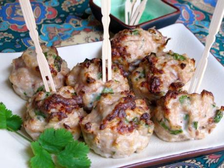 Albondigas de pollo a la tailandesa: receta infantil