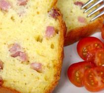 Pastel de jamón de york: receta fácil paso a paso