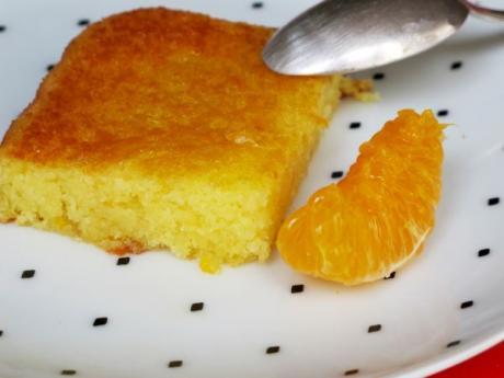 Receta de bizcocho borracho de naranja sin alcohol