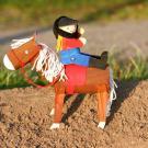 El caballo y su jinete: manualidad para niños