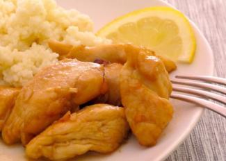 Receta de pollo con limón y miel