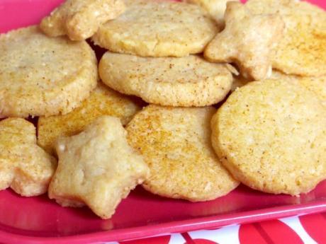 Receta de galletas de parmesano
