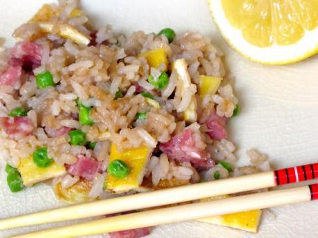 Receta de arroz cantonés