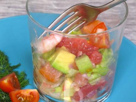 Receta de ensalada nórdica