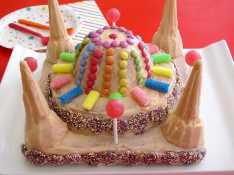 Receta de tarta con forma de castillo