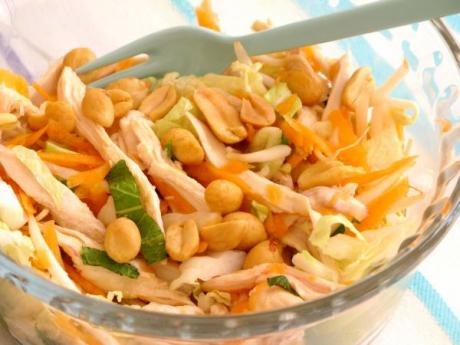 Receta de ensalada asiática de pollo