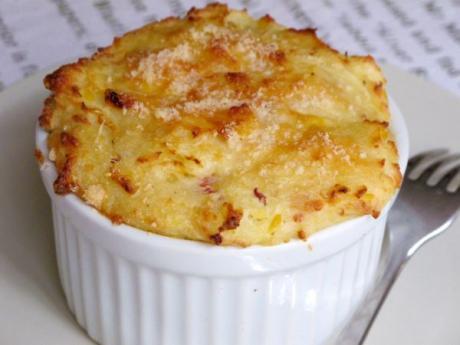 Receta de gratinado de patatas con parmesano