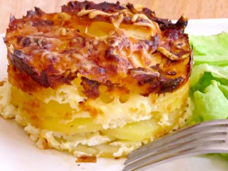 Receta de gratinado de patatas Dauphinois