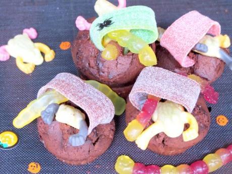 Receta de calderos de chocolate con golosinas