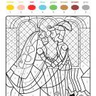 Colour by numbers: la boda de los príncipes