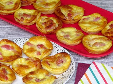 Receta de mini quiches