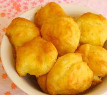 Receta de bolitas de queso gruyere