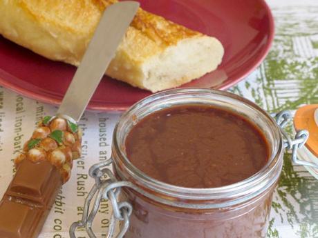 Receta de crema de chocolate casera para untar