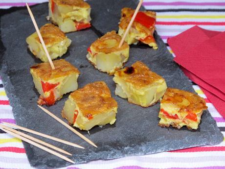 Receta de tapas de tortilla