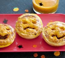 Receta de pastelitos miedosos para Halloween