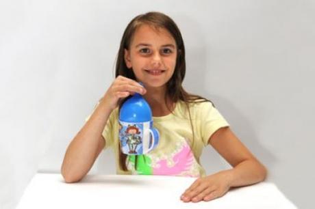 Un globo grúa: experimento para niños