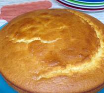 Receta de tarta de yogur